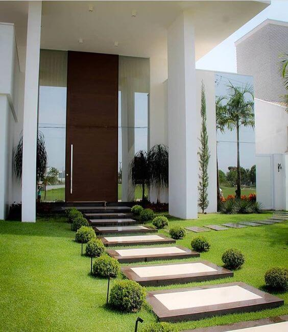 Gartenwegplatten